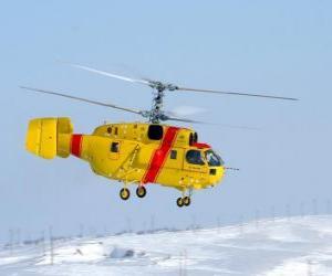 Puzle Velké vrtulník Kamov Ka-32A11BC