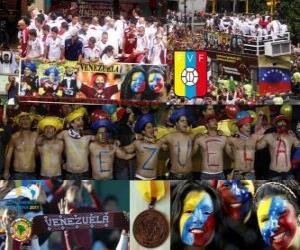 Puzle Venezuela, 4. klasifikován Copa America 2011