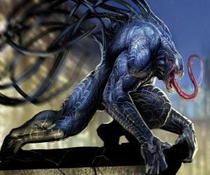 Puzle Venom je symbiote forma života a jedním z Spider-Man archenemies