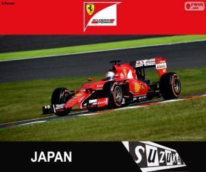 Puzle Vettel G. P. Japonska 2015