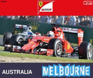 Puzle Vettel G.P Austrálie 2015