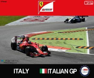 Puzle Vettel, GP Itálie 2015