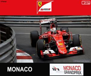 Puzle Vettel G.P. Monako 2015