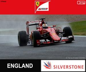 Puzle Vettel G.P Velké Británie 2015