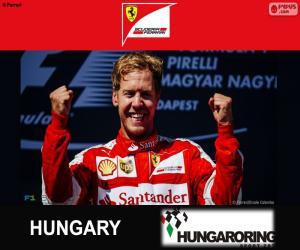 Puzle Vettel Grand Prix Maďarska 2015