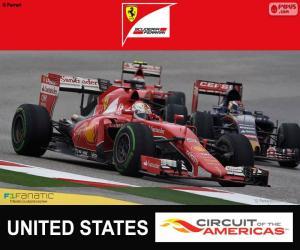 Puzle Vettel, Grand Prix USA 2015