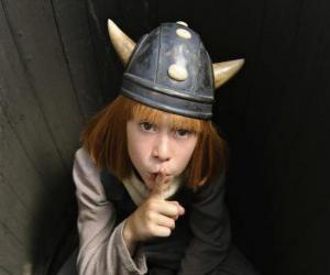 Puzle Vicky Viking skrýt