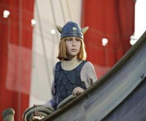 Puzle Vicky Viking v drakkar nebo viking