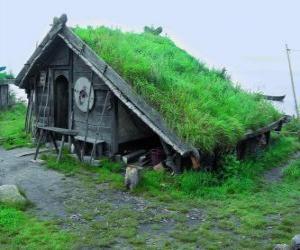 Puzle Viking Dům
