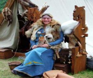 Puzle Viking královny
