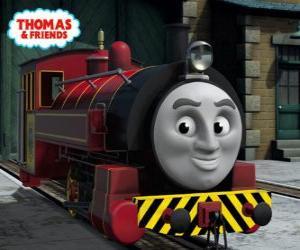 Puzle Viktor je manažer The Sodor Steamworks