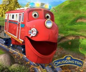 Puzle Vilík, lokomotiva protagonistou od Chuggington