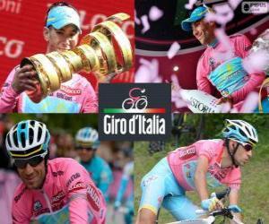 Puzle Vincenzo Nibali, šampion Giro Itálie 2013