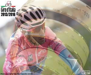 Puzle Vincenzo Nibali, Giro Itálie 2016