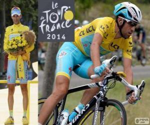 Puzle Vincenzo Nibali, vítěz Tour de France 2014