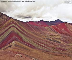 Puzle Vinicunca, Peru