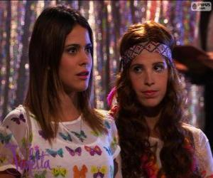 Puzle Violetta a Camila