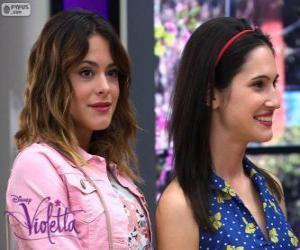 Puzle Violetta a Francesca