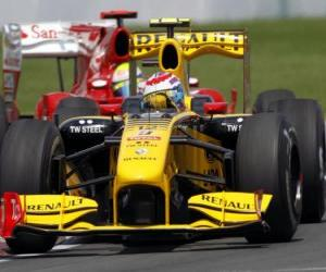 Puzle Vitaly Petrov - Renault - Montreal 2010