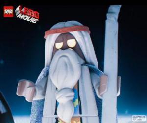 Puzle Vitruvius, starý čaroděj filmu, velké Lego dobrodružství