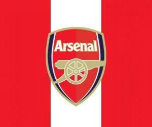 Puzle Vlajka Arsenal FC