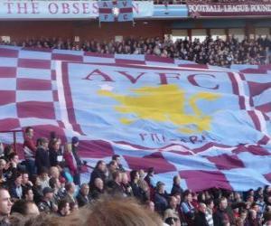 Puzle Vlajka Aston Villa FC