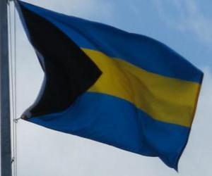 Puzle Vlajka Baham