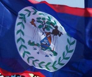 Puzle Vlajka Belize