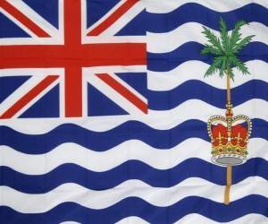 Puzle Vlajka Britské indickooceánské území
