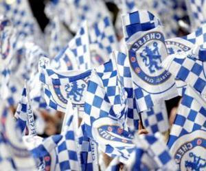 Puzle Vlajka Chelsea FC