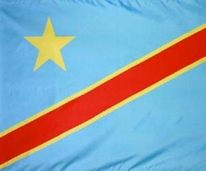 Puzle Vlajka demokratické republiky Kongo