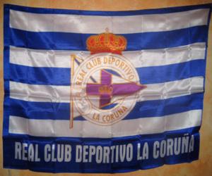 Puzle Vlajka Deportivo de La Coruña