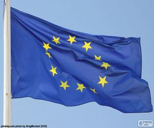 Puzle Vlajka Evropské unie