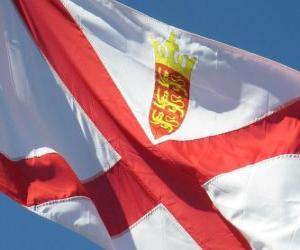 Puzle Vlajka Jersey