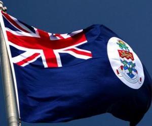 Puzle Vlajka Kajmanských ostrovů