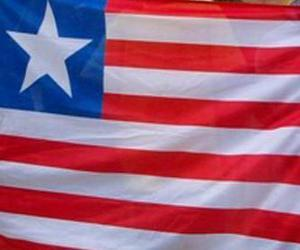 Puzle Vlajka Libérie