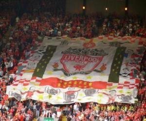 Puzle Vlajka Liverpool FC