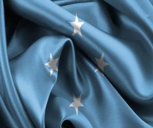 Puzle Vlajka Mikronésie