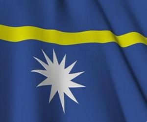 Puzle Vlajka Nauru