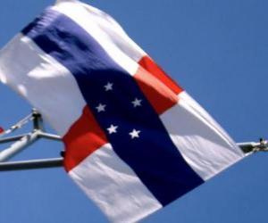 Puzle Vlajka Nizozemských Antil