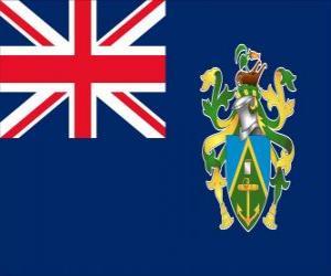Puzle Vlajka Pitcairnových ostrovů