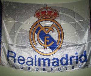 Puzle Vlajka Real Madrid