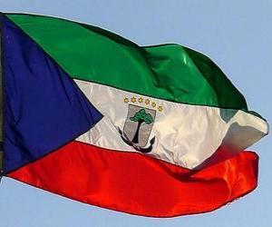 Puzle Vlajka Rovníkové Guiney