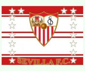 Puzle Vlajka Sevilla FC
