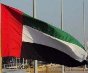 Puzle Vlajka Spojených arabských emirátů