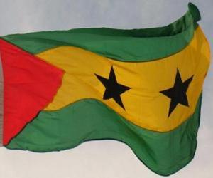 Puzle Vlajka Svatého Tomáše a Princova ostrova
