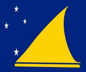 Puzle Vlajka Tokelau
