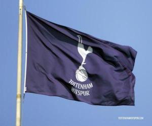 Puzle Vlajka Tottenham Hotspur FC