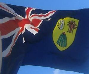 Puzle Vlajka Turks a Caicos