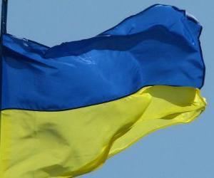 Puzle Vlajka Ukrajiny